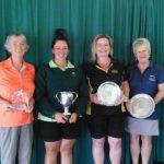 Jennifer Crawley (Napier), Sara Deam (Napier), Joanne Jones (HB), Brownwyn Farquharson (Puketitiri)